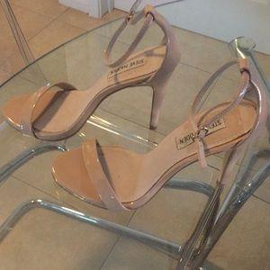 Steve Madden tan high heels sandals